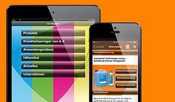 ccmagnus Webagentur - orochemie Hygiene App