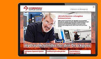 ccmagnus Webagentur - HYDROPNEU Hydraulikzylinder für den Druckguss