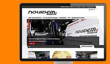 ccmagnus Webagentur - NOVIDEM BUSGLAS
