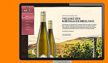 ccmagnus Webagentur - Weinland Rheingau Homepage