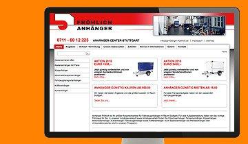 ccmagnus Webagentur - Anhänger Fröhlich Stuttgart