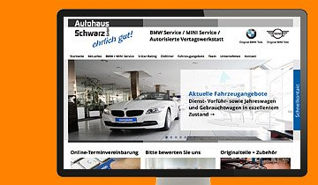 ccmagnus Webagentur - Autohaus Schwarz Kornwestheim