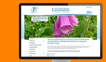 ccmagnus Webagentur - Gemeinschaftspraxis Burkert Herrmann in Calw