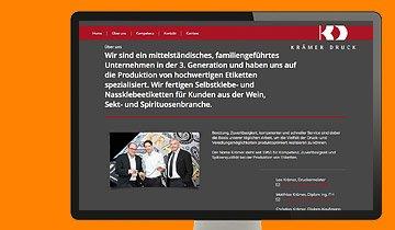 ccmagnus Webagentur - Krämer Druck
