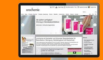 ccmagnus Webagentur - orochemie Homepage