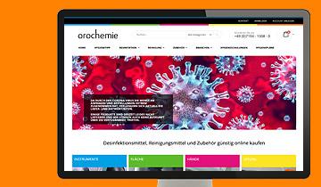 ccmagnus Referenz - shop.orochemie.de - Onlineshop für Desinfektionsmittel und Reinigungsmittel auf Basis Magento