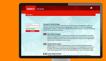 ccmagnus Webagentur - SANCO Intranet